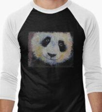Panda Smile Men's Baseball ¾ T-Shirt