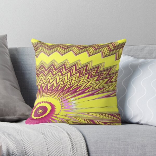 The Eye number 9 Throw Pillow