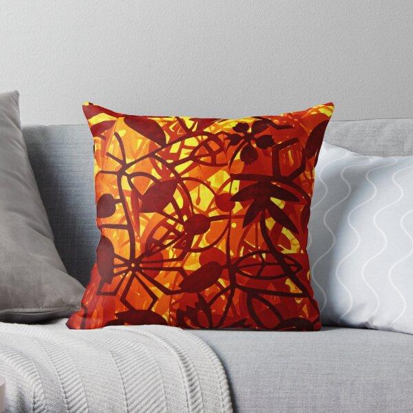 Paper Jungle Throw Pillow