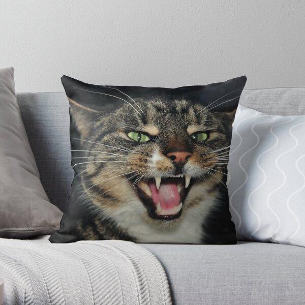 Hear Me Roar Throw Pillow