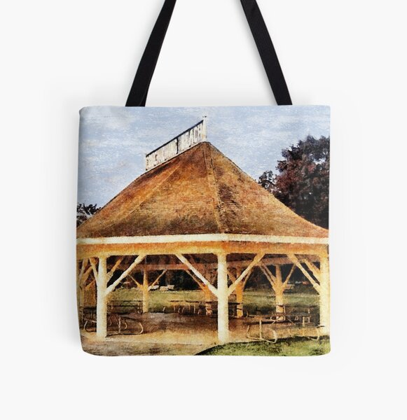 Orillia - Beach Pavilion All Over Print Tote Bag