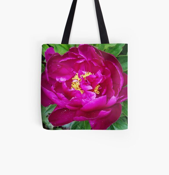 Passions Fire Allover-Print Tote Bag