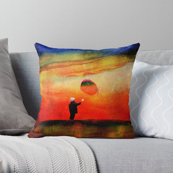 redbubble boy Throw Pillow