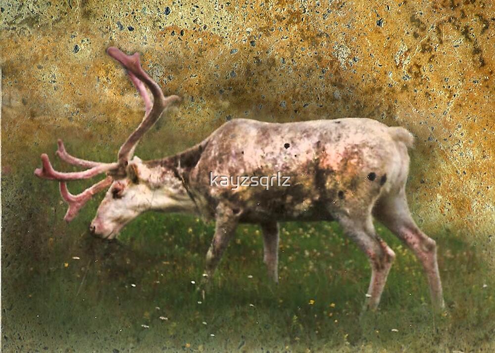 A Reindeer Named Bimbo by kayzsqrlz