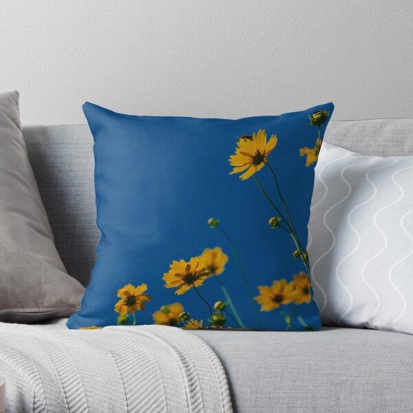 Soaking up Daylight Throw Pillow