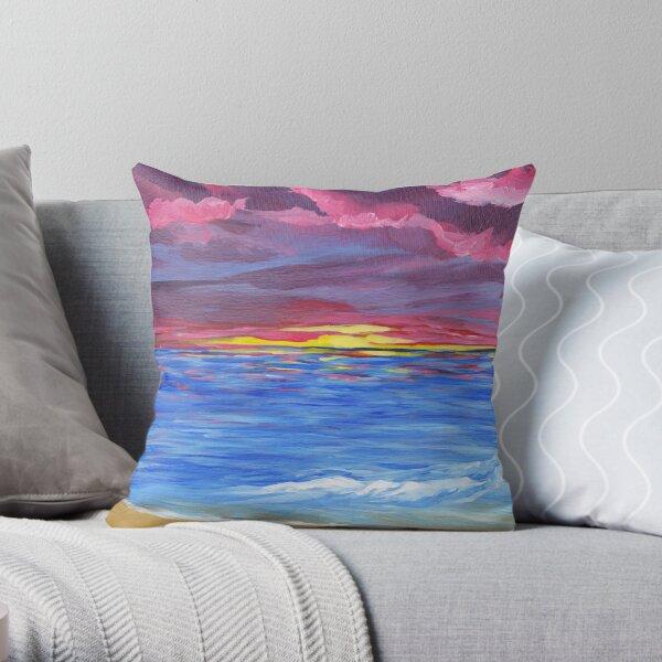 Kim's Sunset Throw Pillow