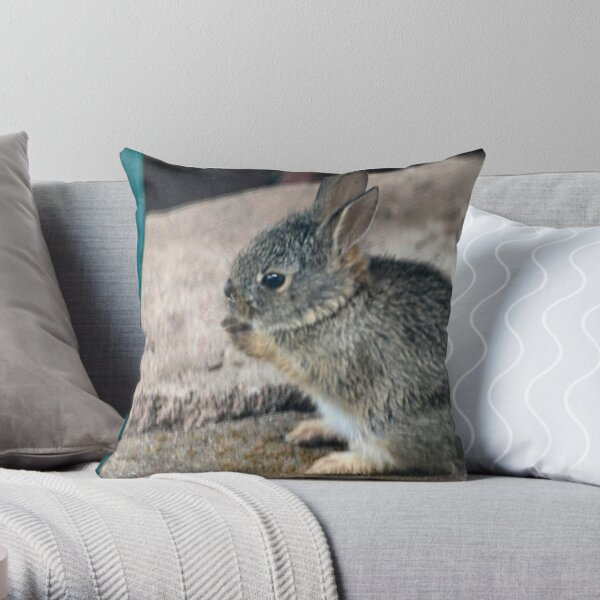 Staying Dry ... Throw Pillow