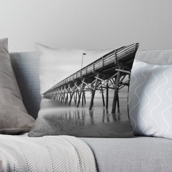 Lonely Morning Throw Pillow