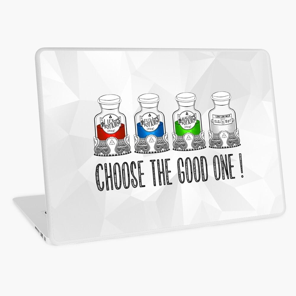 ¡Elige el bueno! Vinilo para portátil