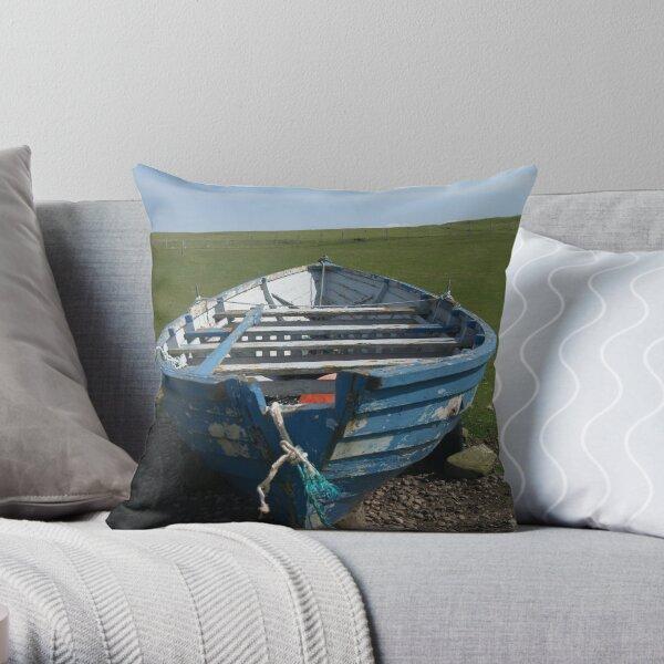 Da Boat - Stenness Throw Pillow