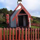 Meeting house at Onakau by Tanisha Jowsey