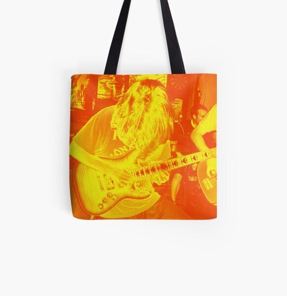 Tappin' Hot Fire All Over Print Tote Bag