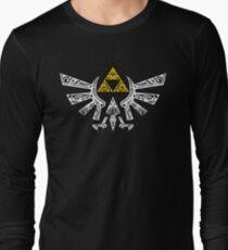 Zelda - Hyrule Gekritzel Langarmshirt