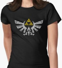 Camiseta entallada Zelda - Doodle Hyrule