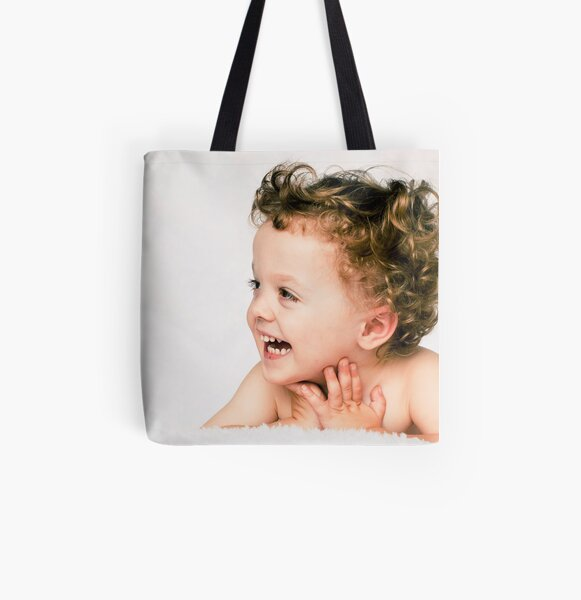 Lashes All Over Print Tote Bag