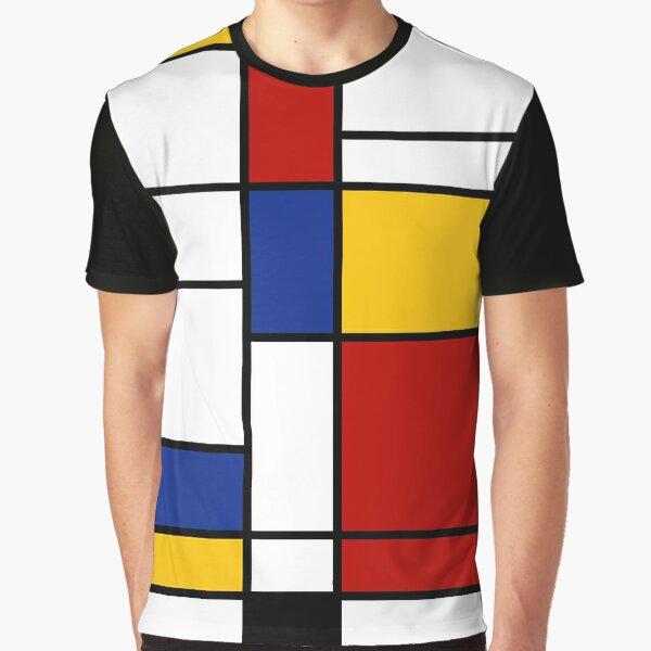 De Stijl #2 (Mondrian Inspired)  Graphic T-Shirt