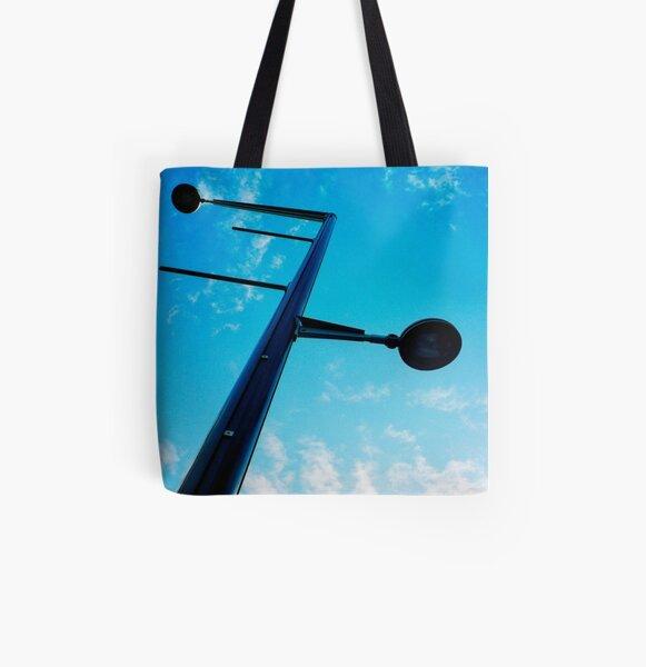 """Lamp Post"" All Over Print Tote Bag"