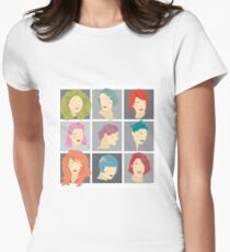 Hairstyles Through Time T-Shirt