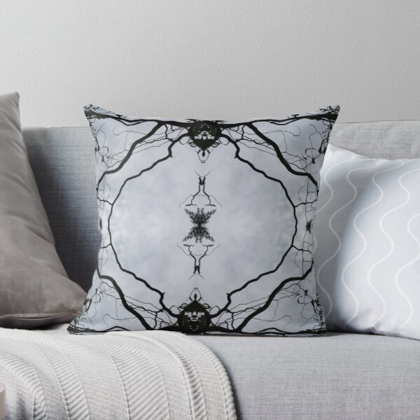 Curly Willow Throw Pillow
