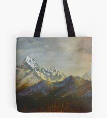 Views of Annapurna South Tote Bag