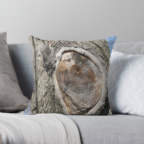 Anatomy of a Tree Throw Pillow