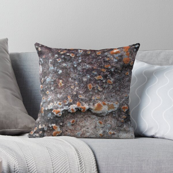 Islands of Stone Throw Pillow