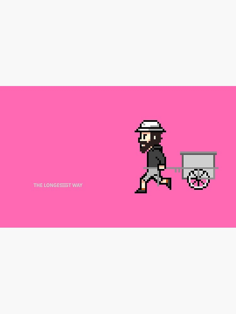 The Longest Pixel (pink) von TheLongestWay