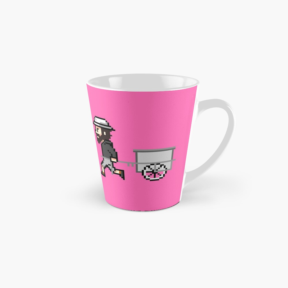 The Longest Pixel (pink) Tasse