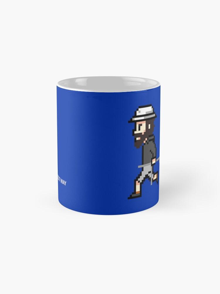 Alternative Ansicht von The Longest Pixel (blue) Tasse