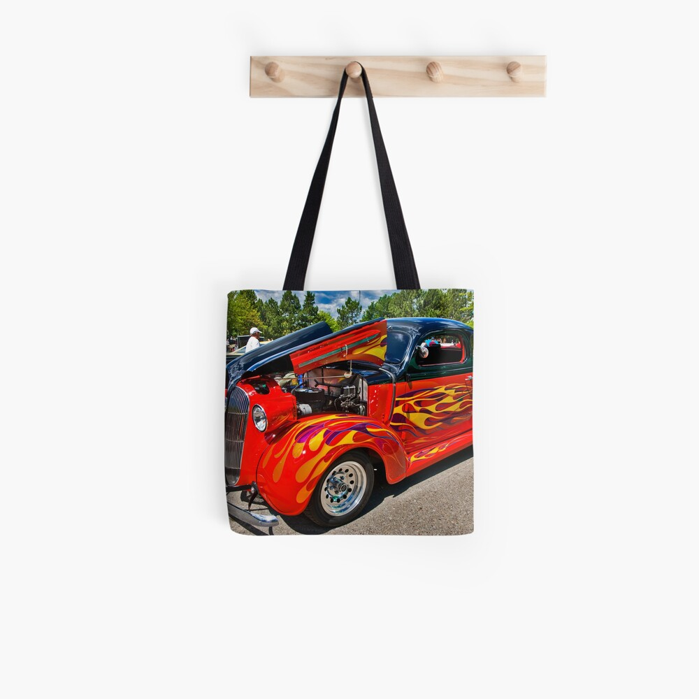 Flame On Tote Bag