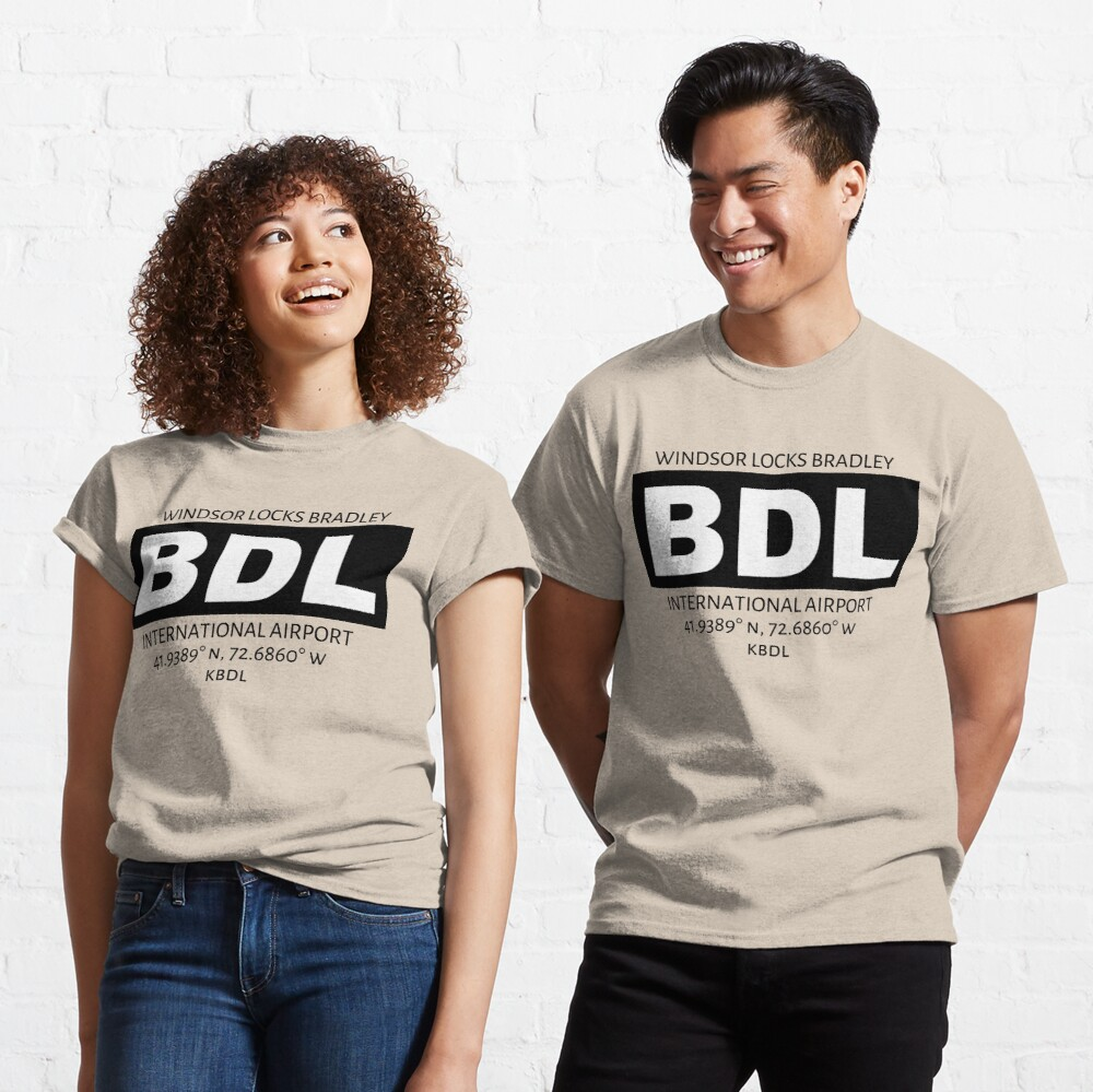 Windsor Locks Bradley Airport Hartford BDL Classic T-Shirt
