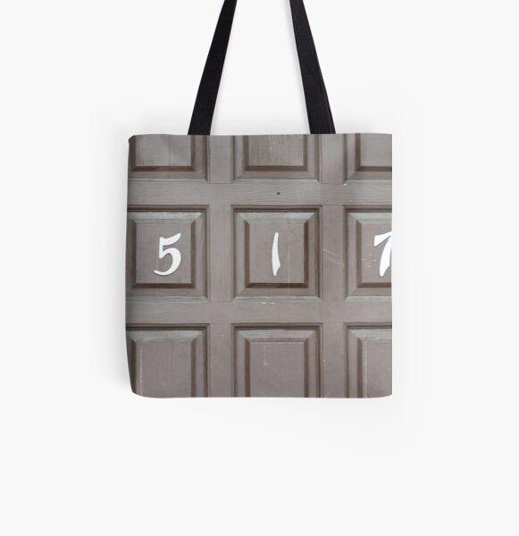 Five Hundred Seventeen All Over Print Tote Bag