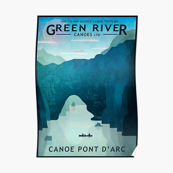 Explore Pont D'Arc Poster