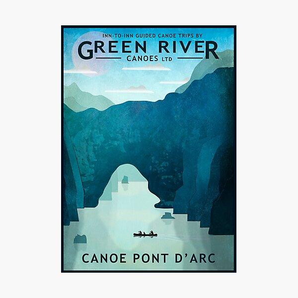 Explore Pont D'Arc Photographic Print