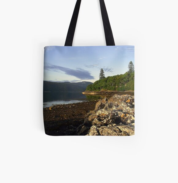 Loch  Sunart All Over Print Tote Bag