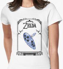 Zelda legend - Ocarina doodle Women's Fitted T-Shirt