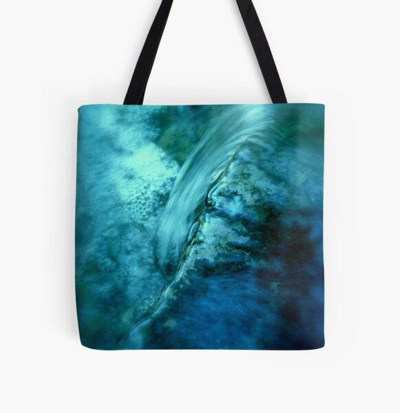 Water is Another World All Over Print Tote Bag
