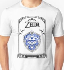 Zelda legend - Link Shield doodle T-shirt unisexe