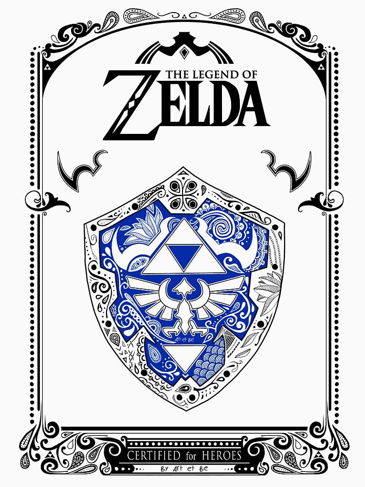 Zelda legend - Link Shield Doodle de artetbe