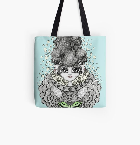 Interplanetary Gift All Over Print Tote Bag
