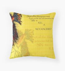 TO KILL A MOCKINGBIRD Sketch 2009 Throw Pillow