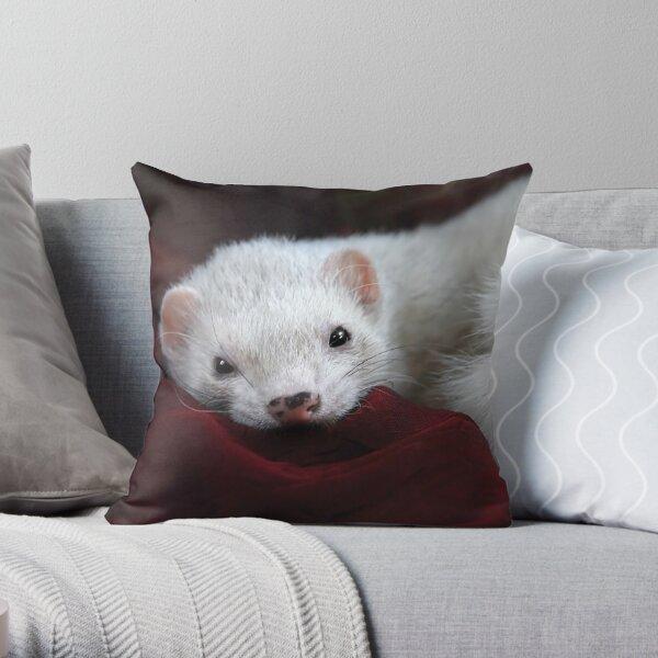 Tu chantais si bien ... Throw Pillow