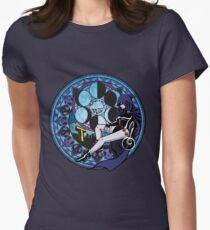 Camiseta entallada para mujer El nacimiento de Raven por el sueño