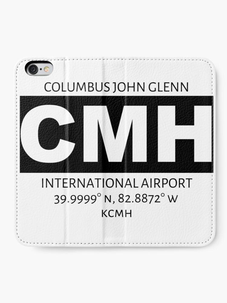 Alternate view of Columbus John Glenn International Airport CMH iPhone Wallet