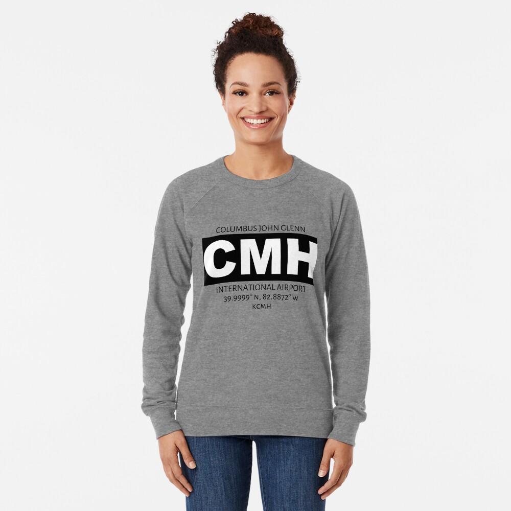 Columbus John Glenn International Airport CMH Lightweight Sweatshirt
