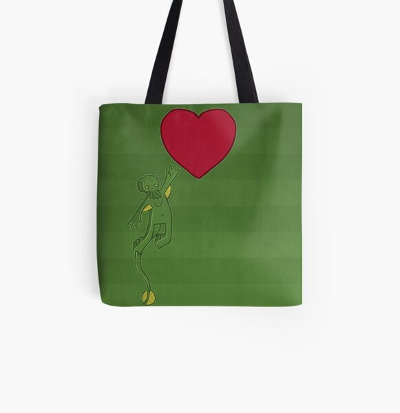 The Love of Cthulhu All Over Print Tote Bag