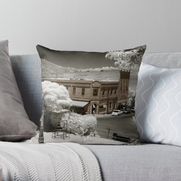 The Connor Hotel Throw Pillow