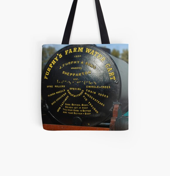 A Genuine Furphy All Over Print Tote Bag