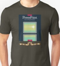 PowerPoint 1.0 for Macintosh, 1987 (25th Anniversary Re-Issue) Unisex T-Shirt
