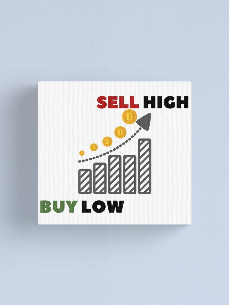 how to buy low and sell high bitcoin